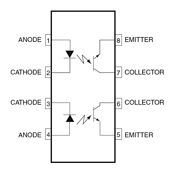 Optocouplers: An introduction to using them with microprocessors