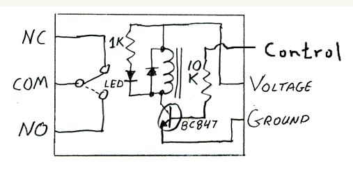 Diode Relay Diagram - Wiring Schematics